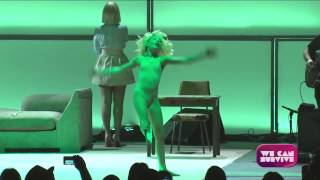 getlinkyoutube.com-Sia - Chandelier (Live at We Can Survive, Hollywood Ball) SIA SHOWED HER FACE FINALLY!!!