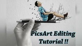 getlinkyoutube.com-Amazing photo editing tutorial! - PicsArt 2016 ʕ•ᴥ•ʔ