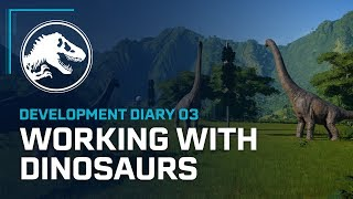Jurassic World Evolution - Fejlesztői Videó: Working with Dinosaurs