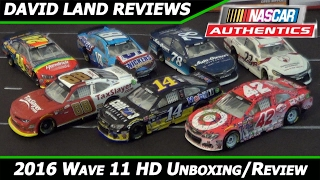 getlinkyoutube.com-2016 Lionel NASCAR Authentics Wave 11 HD Unboxing and Review