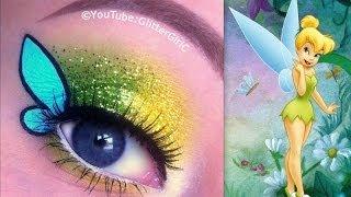 getlinkyoutube.com-Disney's TinkerBell Makeup Tutorial