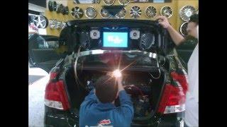 getlinkyoutube.com-Car Audio Aveo Sedan 2011 (Car Audio 2016)