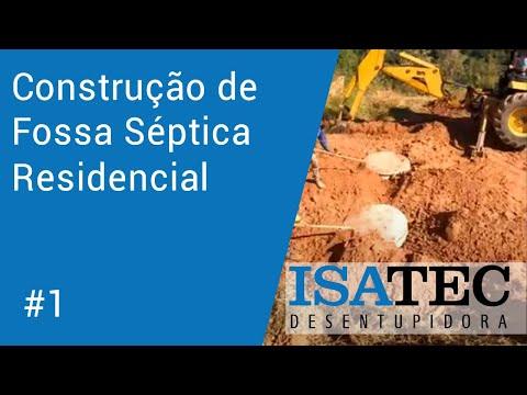 thumb Construção de Fossa Séptica Residencial - Parte #1