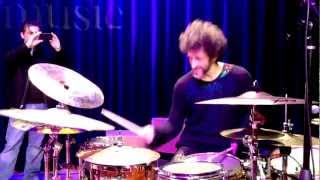 getlinkyoutube.com-Jojo Mayer soundcheck at the Berklee College of Music