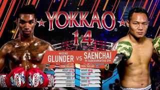 getlinkyoutube.com-YOKKAO 14: Saenchai PKSaenchai Muay Thai Gym vs Massaro Glunder @yokkaoboxing