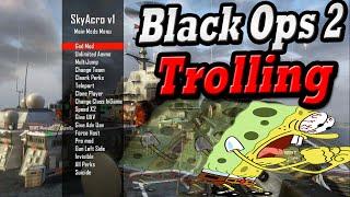 getlinkyoutube.com-Black Ops 2 Mod Menu Trolling #3 *Funny Reactions* SkyAcro Mod Menu Troll *Modded Lobby*