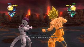 getlinkyoutube.com-DragonBall Z: Ultimate Tenkaichi | Story Mode - Frieza Saga Part 11: Finale(SSJ Goku vs Frieza)
