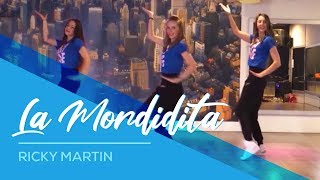 getlinkyoutube.com-Ricky Martin - La Mordidita - Easy Dance Fitness Choreography