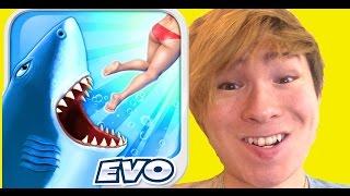 getlinkyoutube.com-サメがひたすら食らいつく面白ゲーム!Hungry shark PDS