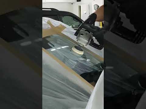 Полировка лобового стекла Mazda CX 5