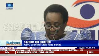 Job Creation: S.Africa Govt Launches 2bn Rand Funds |Business Incorporated|