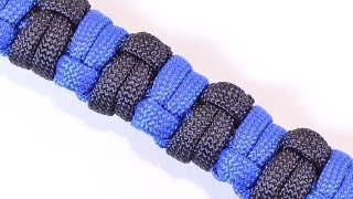 getlinkyoutube.com-How to Make a Modified Half Hitch Paracord Survival Bracelet - BoredParacord
