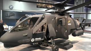 getlinkyoutube.com-AUSA 2015: Sikorsky S-97 Raider helicopter - first flight