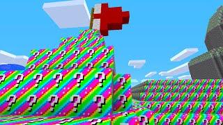 getlinkyoutube.com-Minecraft 1v1 MARIO CASTLE RAINBOW LUCKY BLOCK BATTLE! (Minecraft Mods)