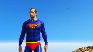 getlinkyoutube.com-ULTIMATE SUPERMAN MOD (GTA 5 Mods Funny Moments)