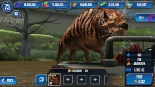 Jurassic World: The game UPDATE! (All Cenozoic Creatures MAX!!)