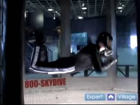 Skydiving & Free-Flying Techniques : The Barrel Role Move in Skydiving & Free Flying