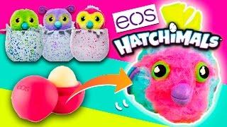getlinkyoutube.com-Cómo hacer un EOS Hatchimal DIY * MANUALIDADES con EOS