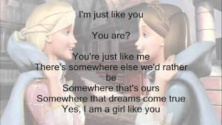 getlinkyoutube.com-I'm a Girl Like You- Barbie as the Princess and the Pauper w/ Lyrics