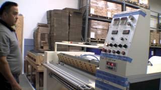 getlinkyoutube.com-Thermal - POS Paper roll Slitting Machine. ( HNR-TDW702-1500L )