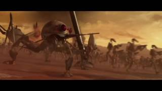 getlinkyoutube.com-Star Wars Battle of Geonosis (Sabaton: The Lost Battalion)