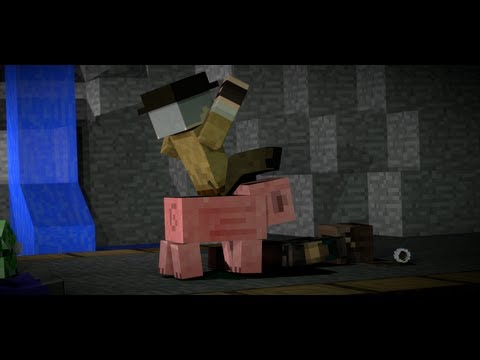Drunken Boxing - Minecraft Animation