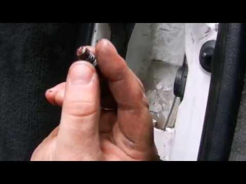 Люфт в двери пежо 605
