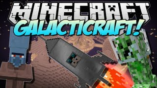 getlinkyoutube.com-Minecraft | GALACTICRAFT! (The Moon, Space Stations & More!) | Mod Showcase [1.6.2]