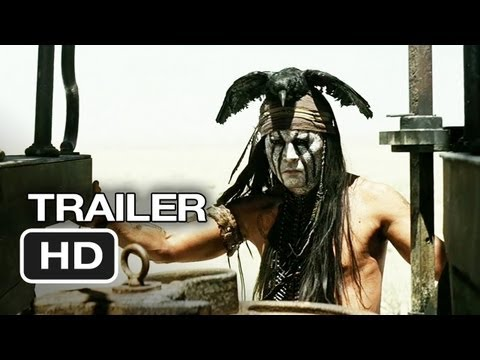 The Lone Ranger TRAILER (2012) - Johnny Depp Movie HD