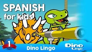 getlinkyoutube.com-Learn Spanish for kids - Learning Spanish for children - Spanish language lessons