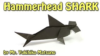 getlinkyoutube.com-Origami Hammerhead SHARK by Mr. Yukihiko Matsuno - Origami easy tutorial