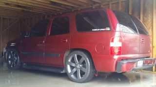 "getlinkyoutube.com-Rgv trucks tahoe lowered xtra 2"" from rear"