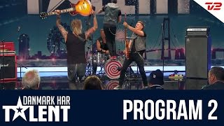 getlinkyoutube.com-Dirty Guns fra Horsens - Danmark har talent - Program 2