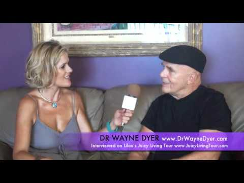 Wayne Dyer's Leukemia & John of God's healings on Wayne - LILOU'S JUICY LIVING TOUR