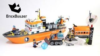 getlinkyoutube.com-Lego City 60062 Arctic Icebreaker - Lego Speed Build