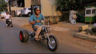 [MotoVLog] - Testride Motor Roda Tiga DIY (Honda Monkey Trike)
