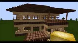 getlinkyoutube.com-Minecraft Tutorial - Wie baue ich ein schönes Haus (Teil 1 - Rohbau)