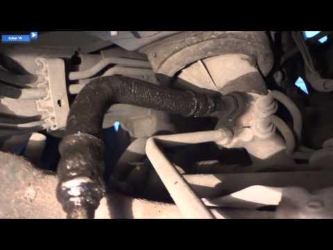 Dodge Caliber устранение течи гидроусилителя