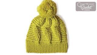 getlinkyoutube.com-How to Crochet A Hat: Do the Twist Stitch