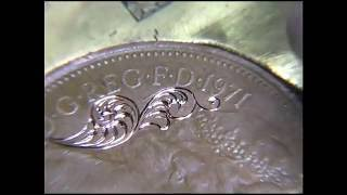 getlinkyoutube.com-Hand Engraving Lesson 1 'How To Engrave Scrollwork'