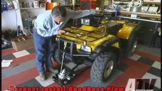 getlinkyoutube.com-ATV Television - QuadBoss ATV Plow Installation