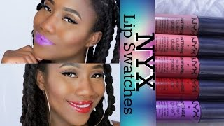 getlinkyoutube.com-NYX Intense Butter Gloss Lip Swatches + Review #ThePaintedLipsProject | JASMINE ROSE