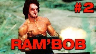 getlinkyoutube.com-RAMBOB - Ep.2 - Playthrough sur Rambo avec Bob Lennon