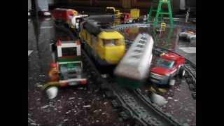 getlinkyoutube.com-Lego Train Crash 2