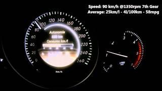 getlinkyoutube.com-C250 CDI Consumptions Test