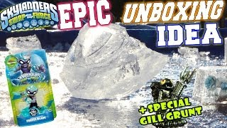 getlinkyoutube.com-The Freeze Blade Epic Unboxing Idea / Special Edition Gill Grunt Is Here! (Skylanders Swap Force)