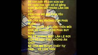 getlinkyoutube.com-rap việt lời con xin lỗi cha mẹ karaoke-beat -kattut