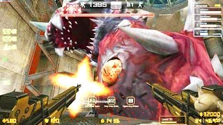 getlinkyoutube.com-Counter-Strike Nexon: Zombies - Kraken Zombie boss Fight online gameplay on Panic Room map