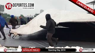 Chicago Cubs Wrigley Field Opening Day 2018 Cancel
