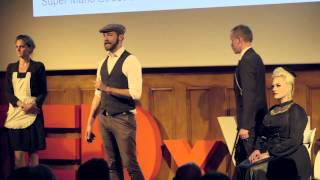 The City is a Stage | Herr Finnland | TEDxViennaSalon